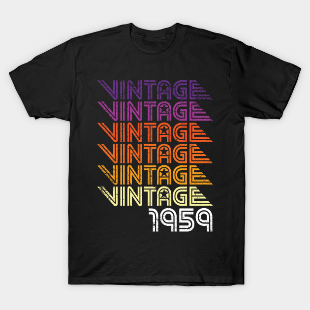 Retro Vintage Graphic 60 Years Old 60th Birthday Gift T Shirt