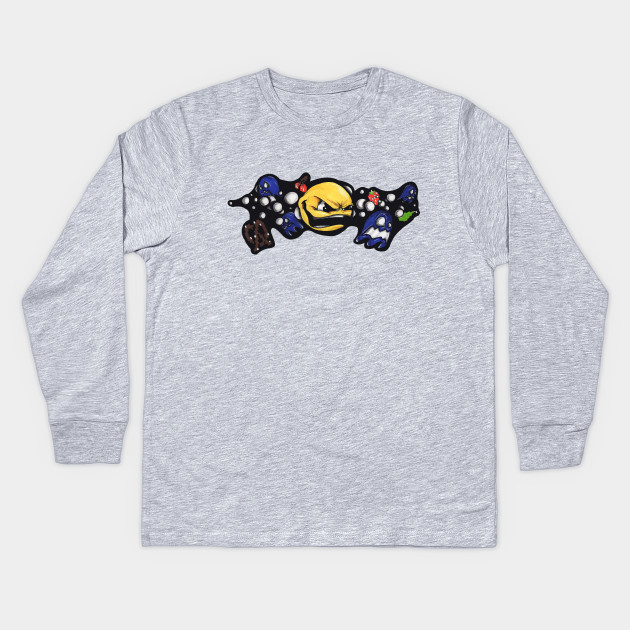 c30edcf9 Pac-Man - Pacman Ghost - Kids Long Sleeve T-Shirt | TeePublic