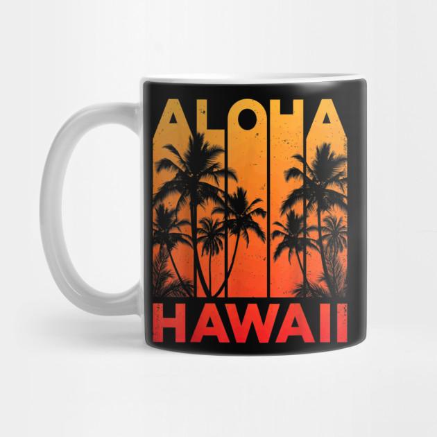 68c872cd Aloha Hawaii Hawaiian Island T shirt Vintage 1980s Throwback - Aloha ...