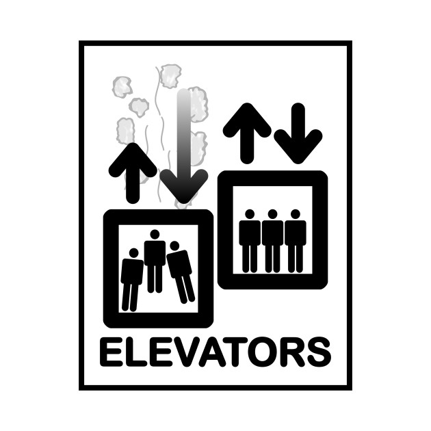 limited edition exclusive elevator sign elevator sign t shirt