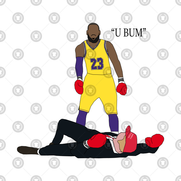 LeBron James Knocks Out Donald Trump