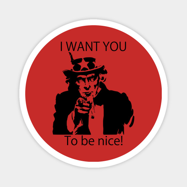 Kühlschrankmagnet Uncle Sam Kühlschrankmagnet I Want You