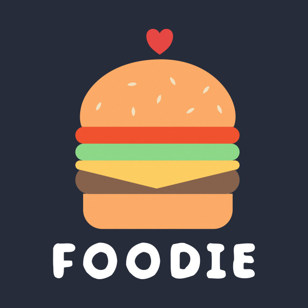 Cute and adorable foodie burger