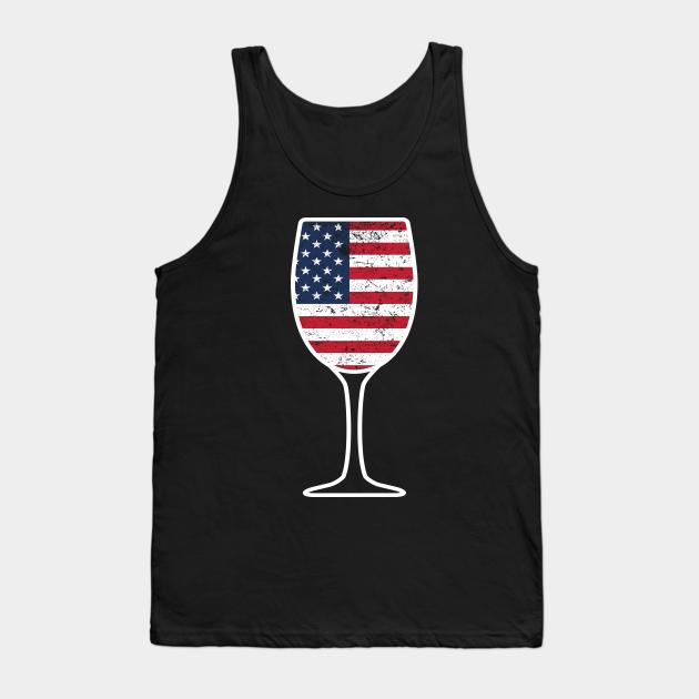 Wine Bag Decal Coffee Mug Tea Towel Sticker Wine Glass Tank Koozie Happy 4th of July T-shirt Pint Glass