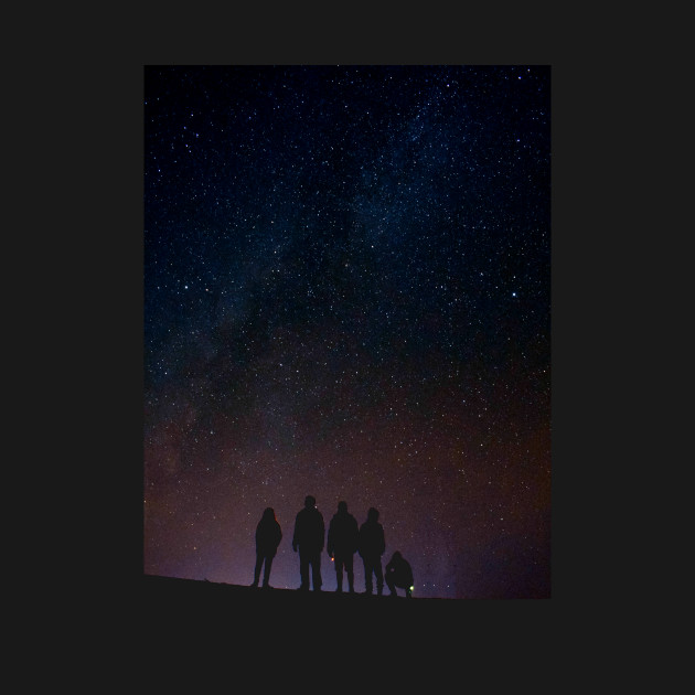 Star Seekers - Space Night Sky Galaxy Stars at Night Universe Cosmos Astronomy