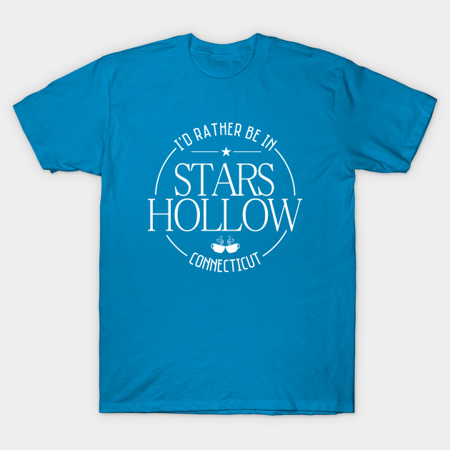 61036aff I'd rather be in Stars Hollow - Lorelai - T-Shirt | TeePublic
