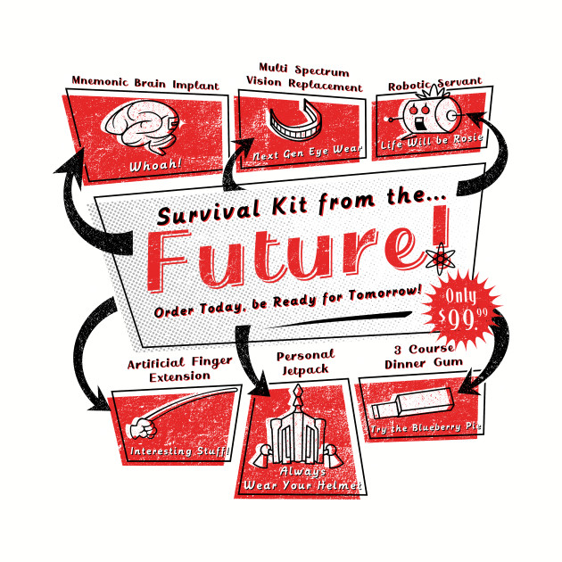 Retro Future Survival Kit