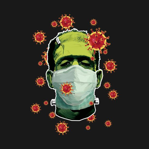 The Corona Monster - Greens Version
