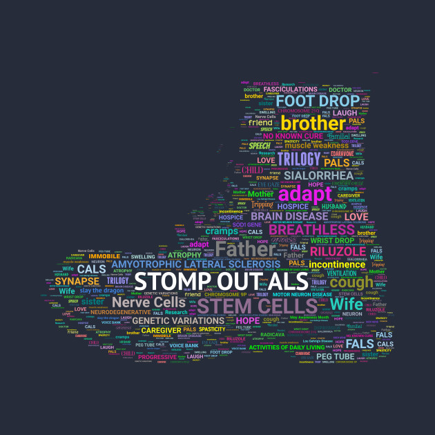 STOMP OUT ALS Boot
