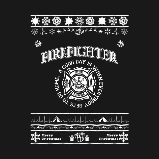 Merry Christmas FIREFIGHTER