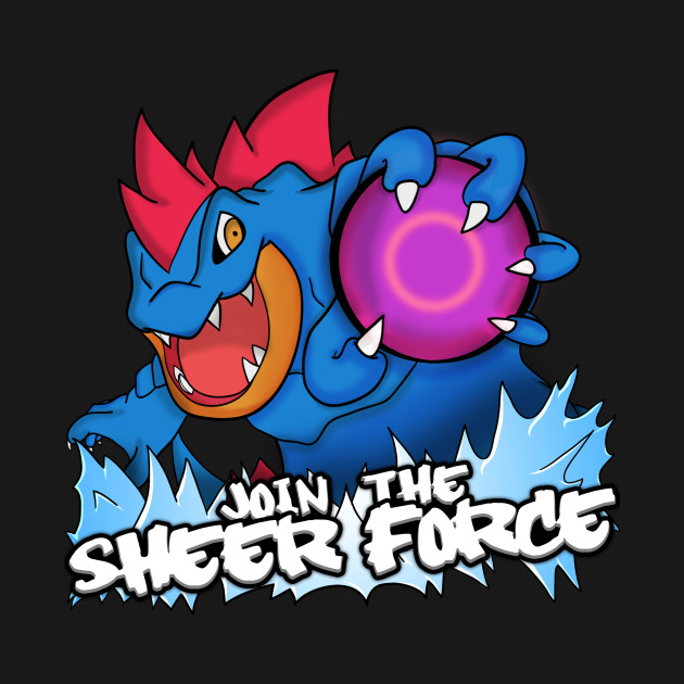 """Official """"Join the Sheer Force"""" T-Shirts by Hydros!"""