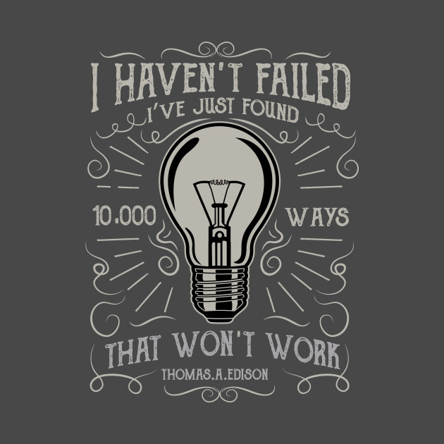 Thomas Edison Quote Think Positive Pillow TeePublic Interesting Thomas Edison Quotes