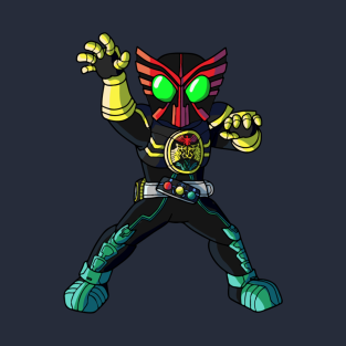 Kamen Rider Ooo T-Shirts | TeePublic