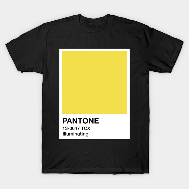 Graphic T- Shirt Ultimate Gray And Illuminating Unisex T Shirt Pantone Color Of The Year Merch Checkerboard Print Classic T-Shirt