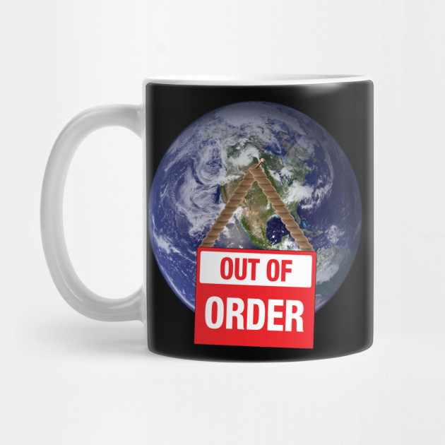 Out of Order Earth Mug