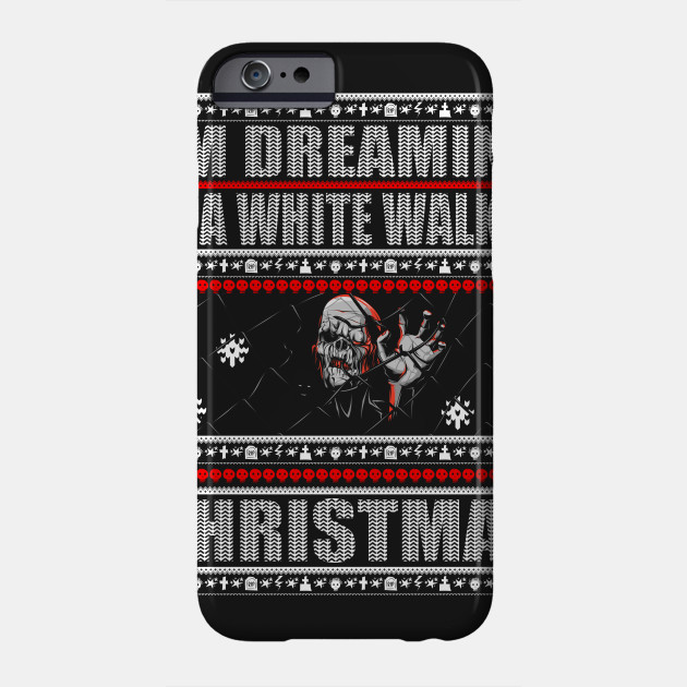 Zombie Christmas Sweater.I M Dreaming Of A White Walker Christmas Zombie