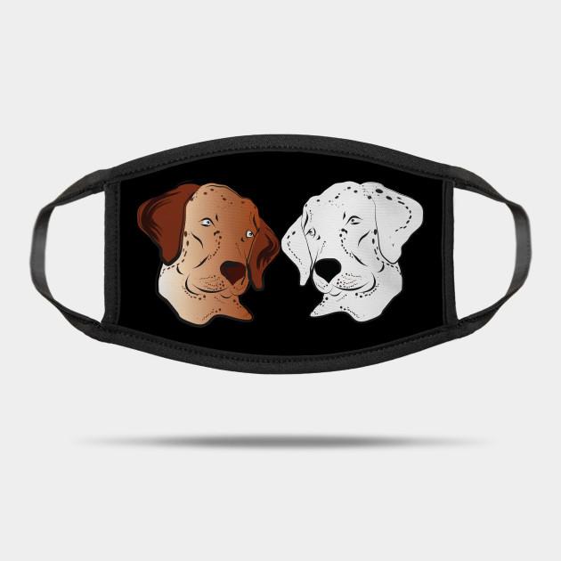 Cartoon Dog 3 Anime Dog Mask Teepublic