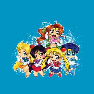 Sailor Scouts t-shirts