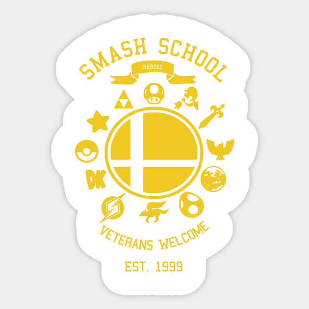 Smash School Veteran Class (Yellow)
