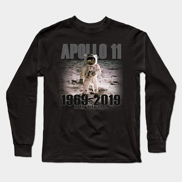 e885cea1 Apollo 11 Moon Landing 50th Anniversary - Apollo - Long Sleeve T ...