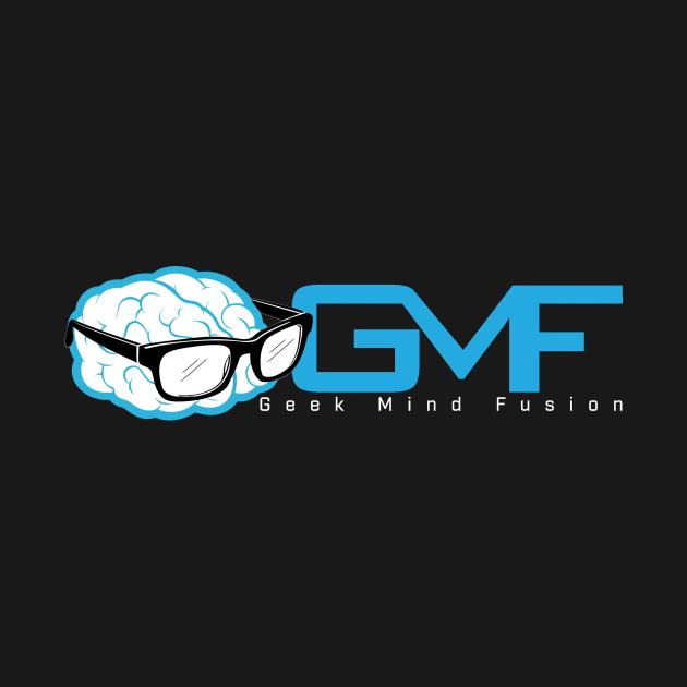 Geek Mind Fusion Logo Horizontal (Dark Colors)