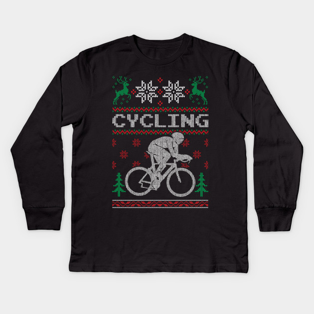 Love Cycling Ugly Christmas Sweaters Shirts - Cycling Ugly Christmas ... e4f2d85f5