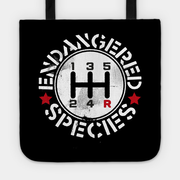 Manual Transmission Endangered Species Transmission Tote Teepublic