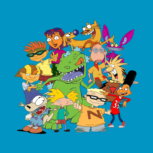 90's Cartoon Mash-Up