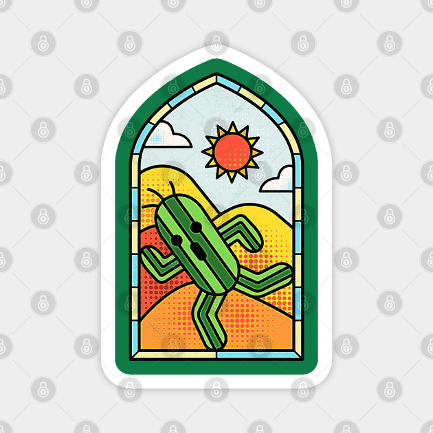 Stained Glass Cactuar