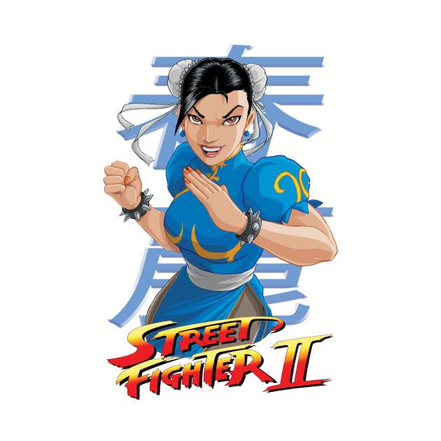 Chun Li Street Fighter Logo 2