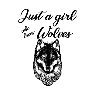 wolf girls t shirts teepublic