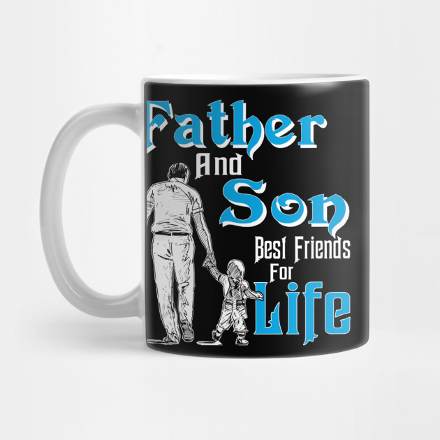 Gift Papa Dad Father And Son Best Friend For Life Fathers Day Birthday