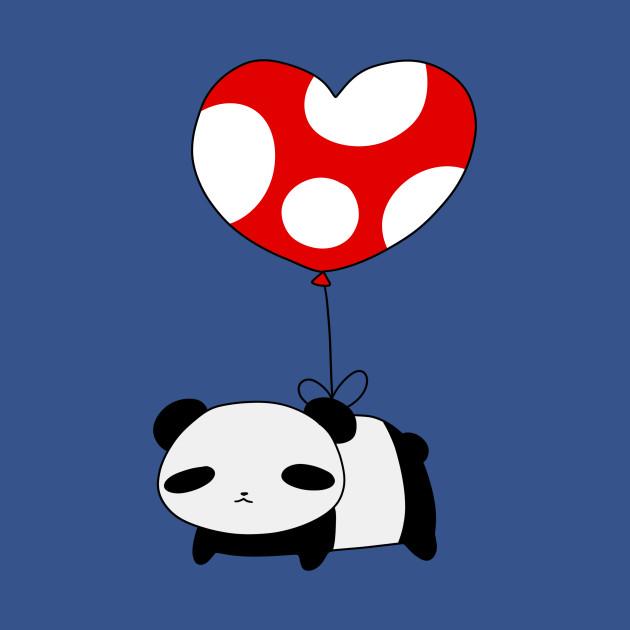 Heart Balloon Panda