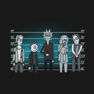 Unusual Suspects t-shirts