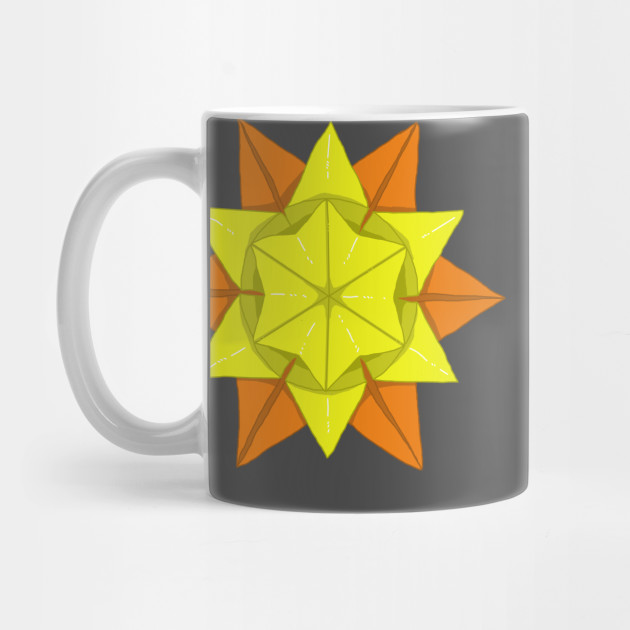 Origami Sun Sun Mug Teepublic