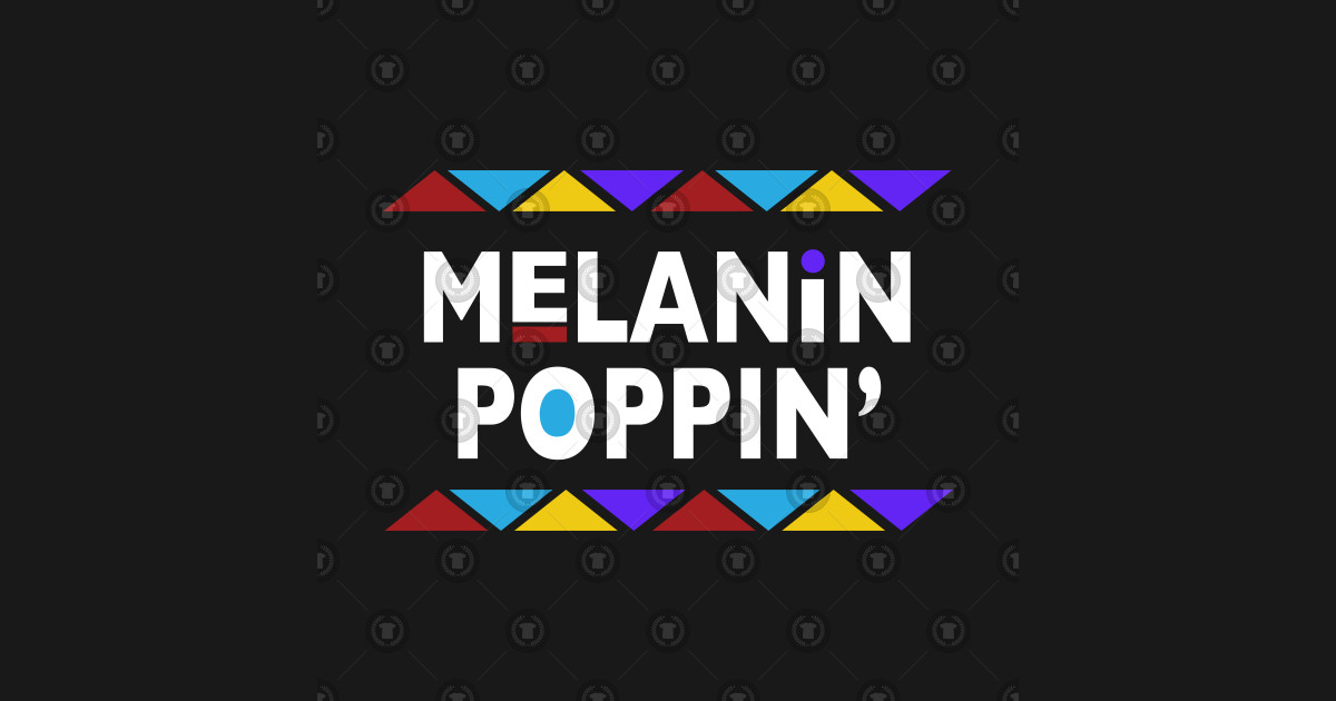 Melanin Poppin 90s Font by naturalhairgear