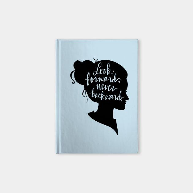 Look Forward, Never Backward: Artsy Girl Silhouette