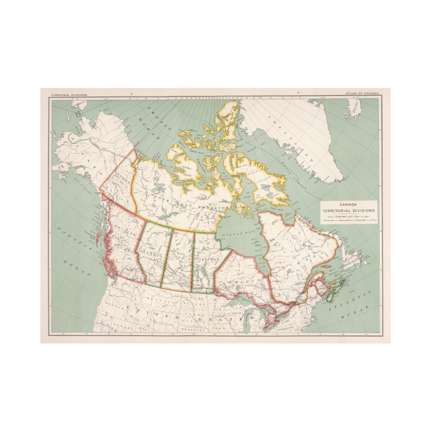 Map Of Canada Kids.Vintage Map Of Canada 1915