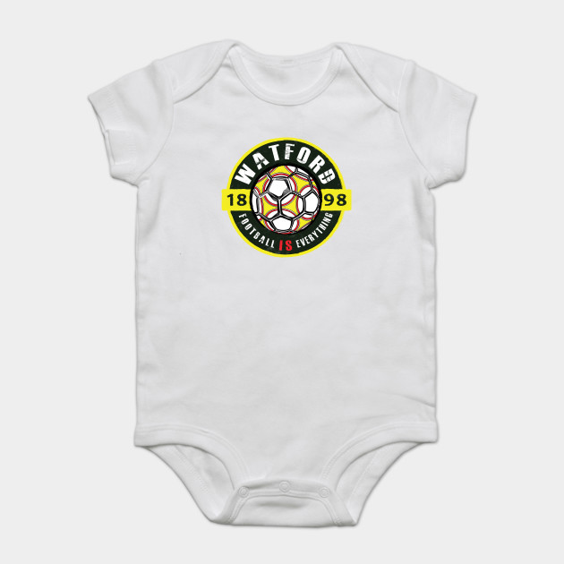 for Football Soccer Fans Baby Vests Bodysuits Me and My Daddy Love Watford