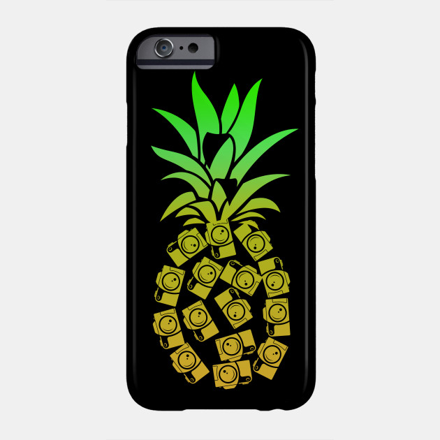 Pineapple Camera Photographer Shirt Birthday Gift Funny Phone Case