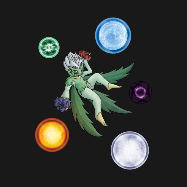 Roserade - The Bouquet Pokémon