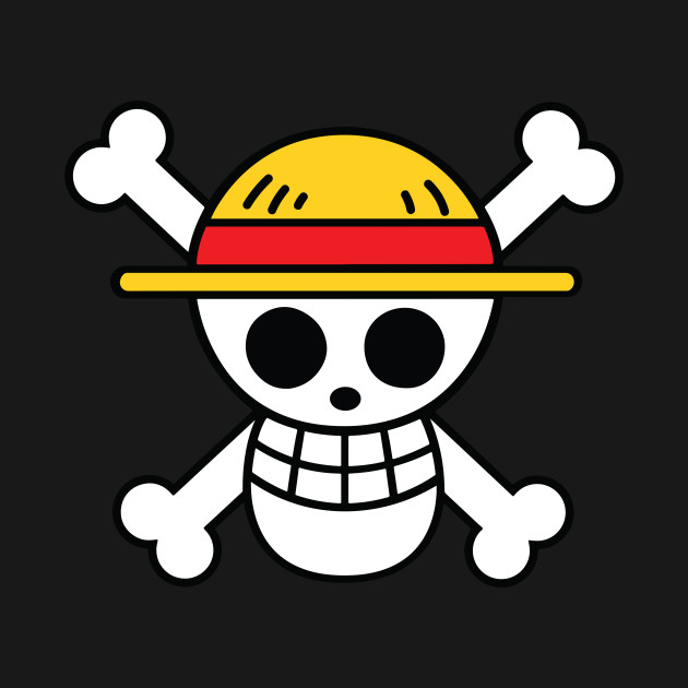 One piece flag logo - Onepiece Flag Cutest Logo Straw Hat ...