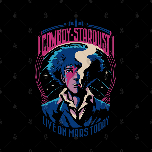 Cowboy Stardust-Live On Mars Today