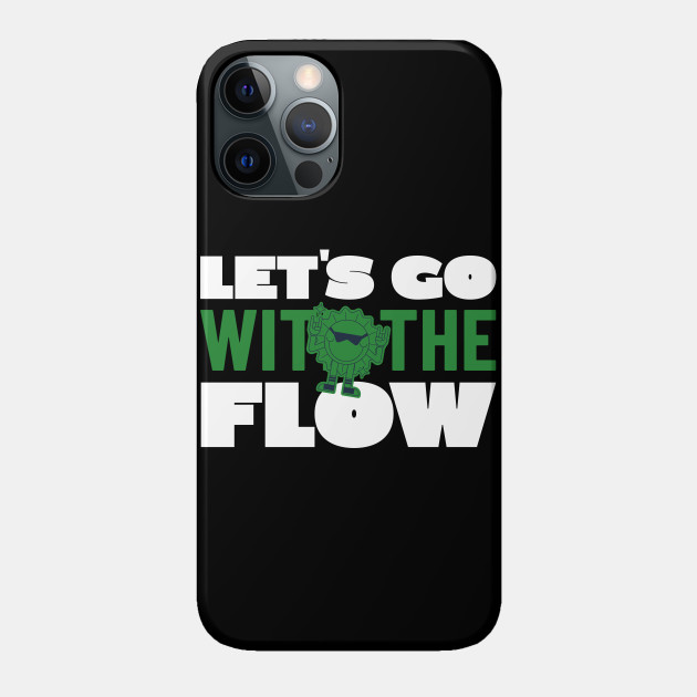GO WITH FLOW TYPOGRAPHY