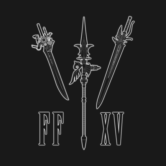 Final Fantasy 15 - Noctis weapons.