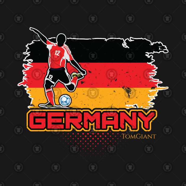 Football Worldcup Germany German Soccer Team Footballer Rugby Gift
