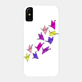 Origami Bird Phone Cases - iPhone and Android | TeePublic