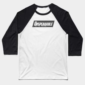 Unspeakable Baseball T-Shirts | TeePublic