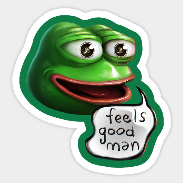 Feels Good Man Pepe the Frog HD