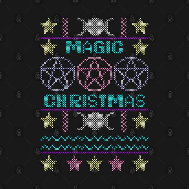 Ugly sweater Magic Christmas